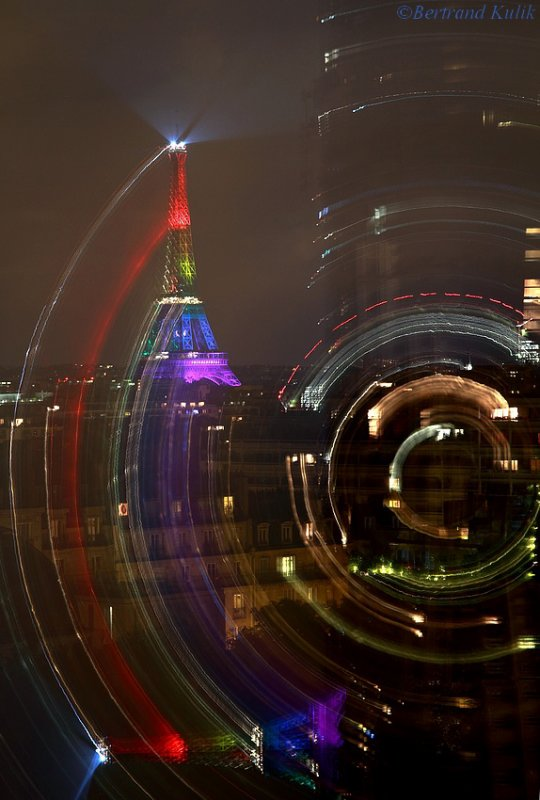 Parisian rainbow...
