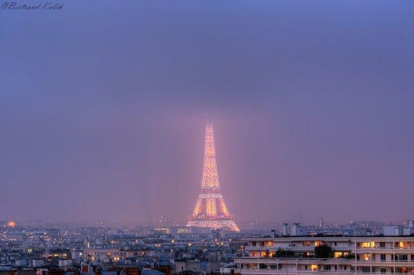 Heure bleue Parisienne