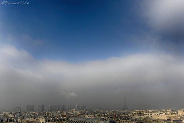 Paris dans le smog