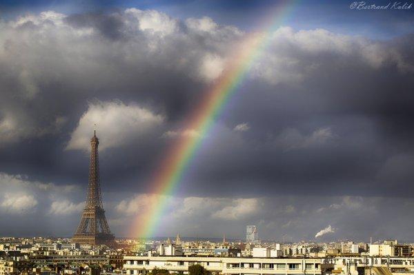 Arc en ciel Parisien du jour