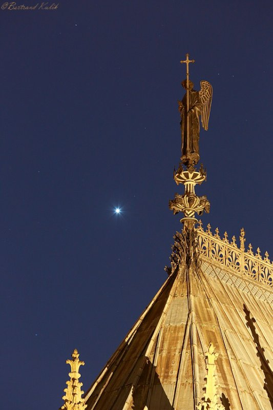 Venus dans le ciel Parisien