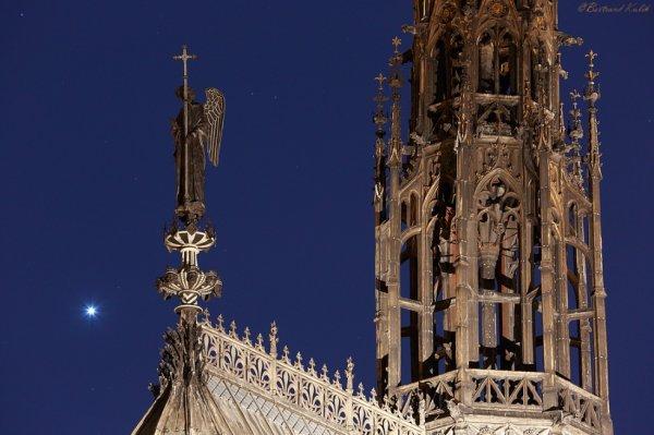 Vénus sur la Sainte Chapelle
