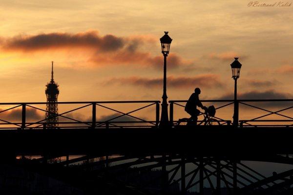 Fin de journée Parisienne