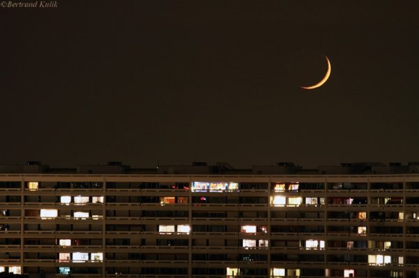 Lumière cendrée sur Paris