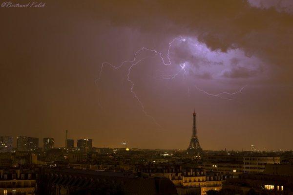 Orage Parisien