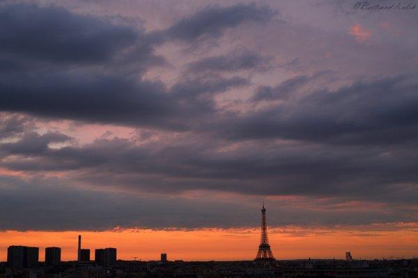 Coucher de soleil Eiffelien
