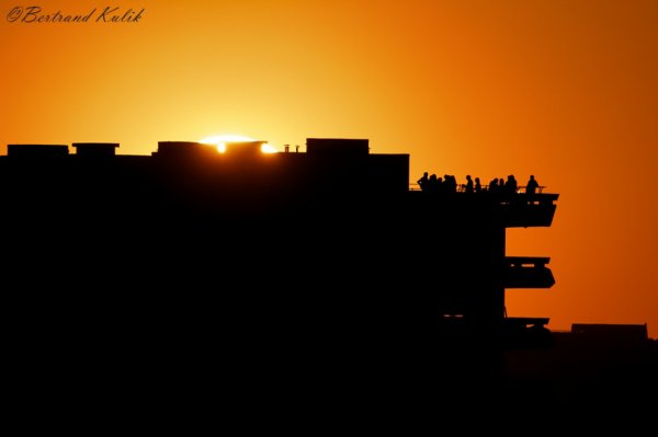 Sunset entre amis