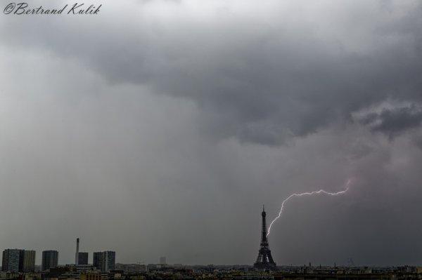 Orage en vue, Parisian storm