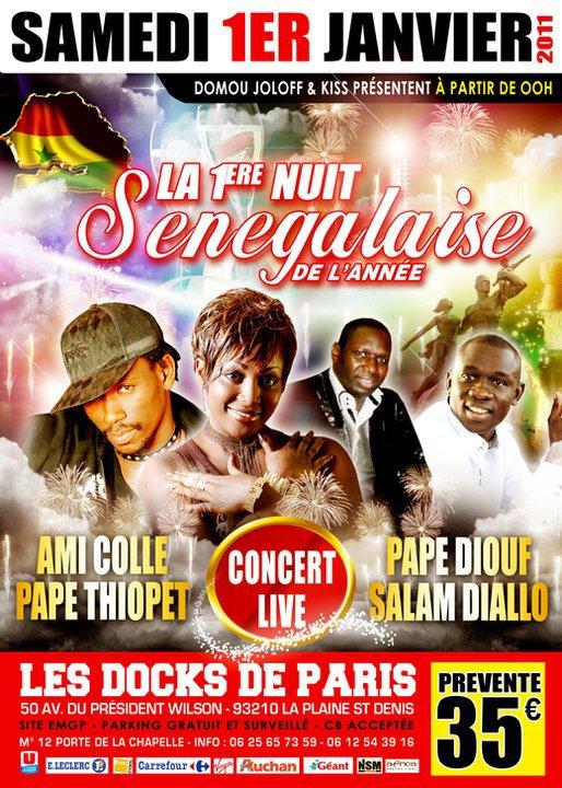 Après Le 31 Decembre 2010 pour une bonne fête de fin D'ANNEE, C' est le 1er Javier 2011 pour commencer une nouvelle ANNEE