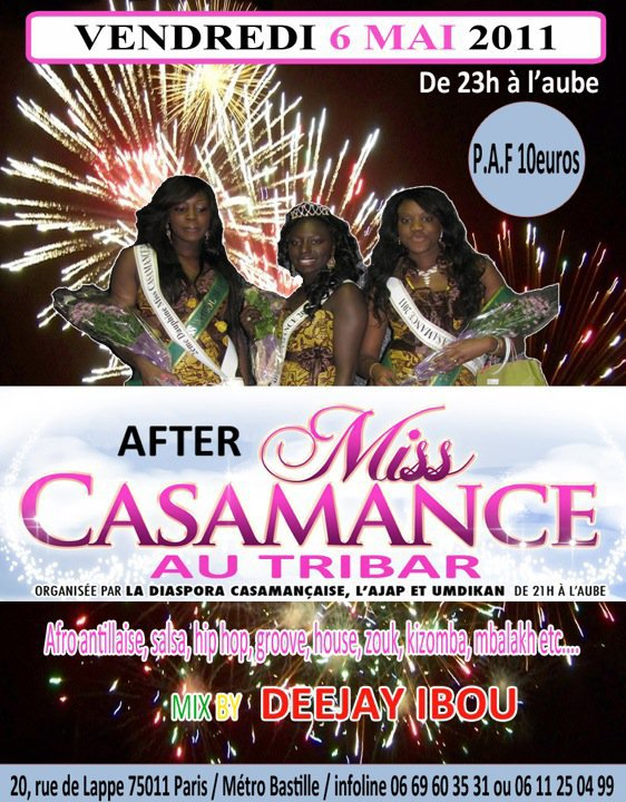 AFTER MISS CASAMANCE VENDREDI 06 MAI 2011