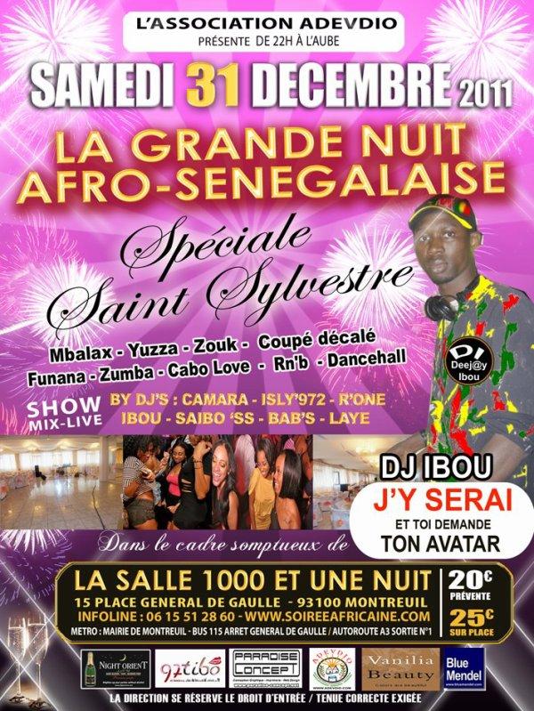 LA GRANDE NUIT AFRO-SENEGALAISE