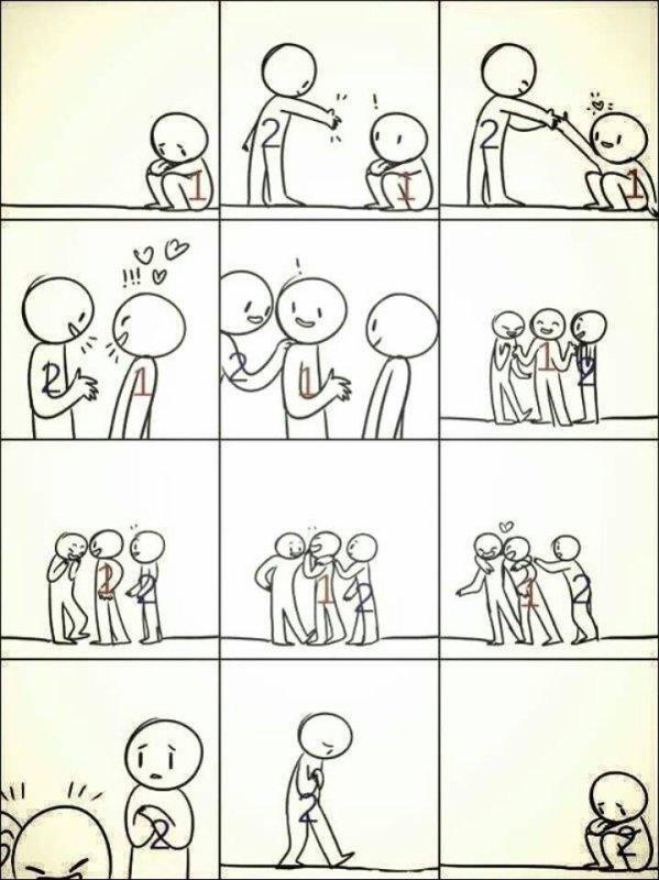triste réalité ..