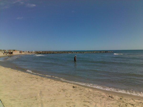 Une belle petite plage