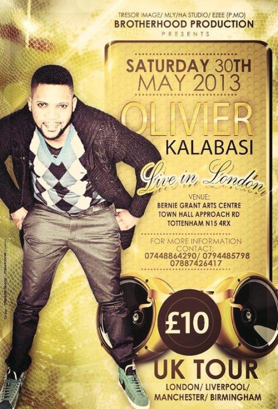 FR OLIVIER KALABASI & EL BETHEL LIVE À LONDON 1ER JUIN 2013