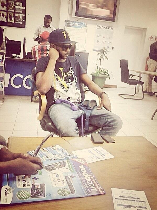 Frère Olivier Kalabasi à Kinshasa (RDC) chez Vodacom
