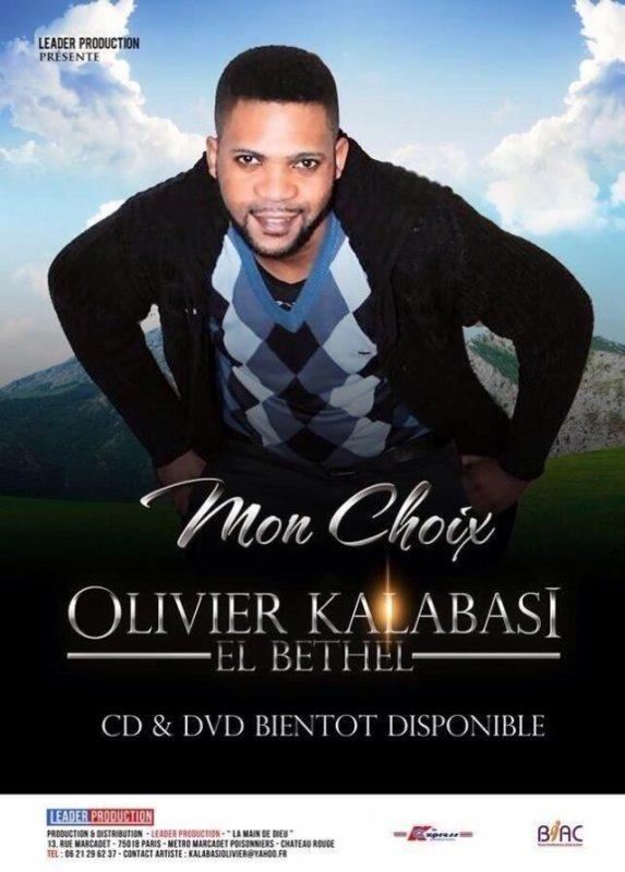 """Affiche du nouvel album """"MON CHOIX"""""""