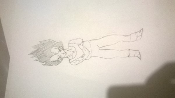 dessin manga vegeta dragon ball z