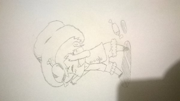 dessin chibi luffy one piece