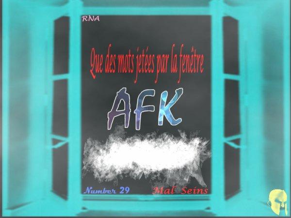 Que des mots... By AFK