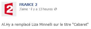 """Al.Hy dans """"C'est Votre Vie"""" pour Muriel Robin. 08/02/2014"""