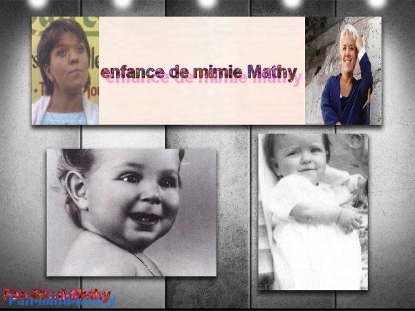 l'enfance de mimie