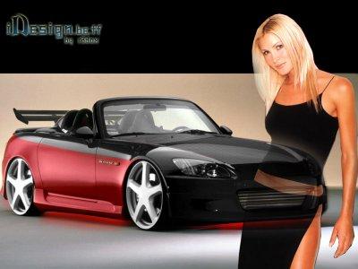 femme avec voiture blog de gundam009. Black Bedroom Furniture Sets. Home Design Ideas