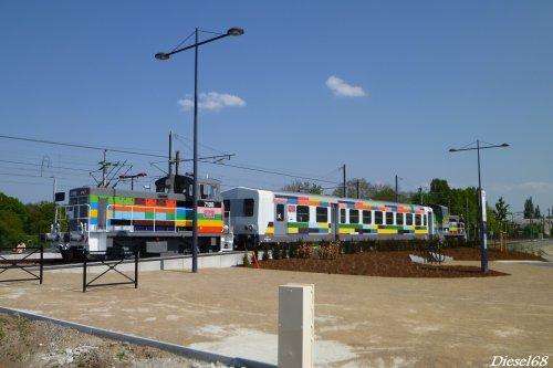 La navette organisé par la Cité du Train à Mulhouse