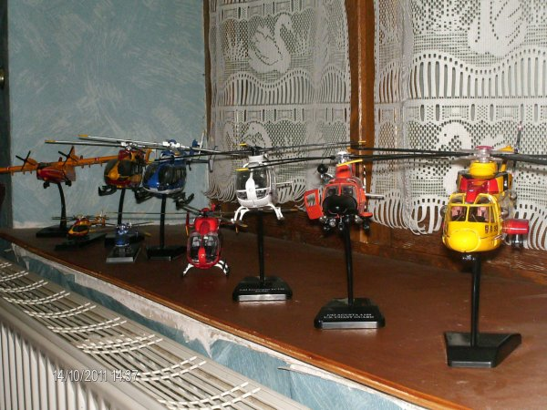 collection helicoptere doudou