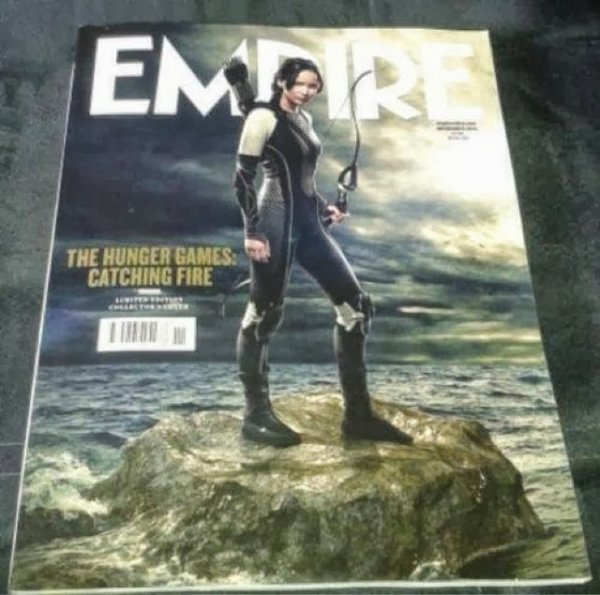 Magasine EMPIRE, couverture : Katniss Everdeen