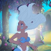 Princesse Disney en sirène