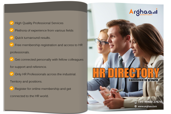 Directory of HR Professionals Company Chennai - Arghaa