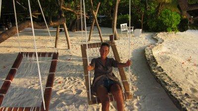 Moi aux Maldives