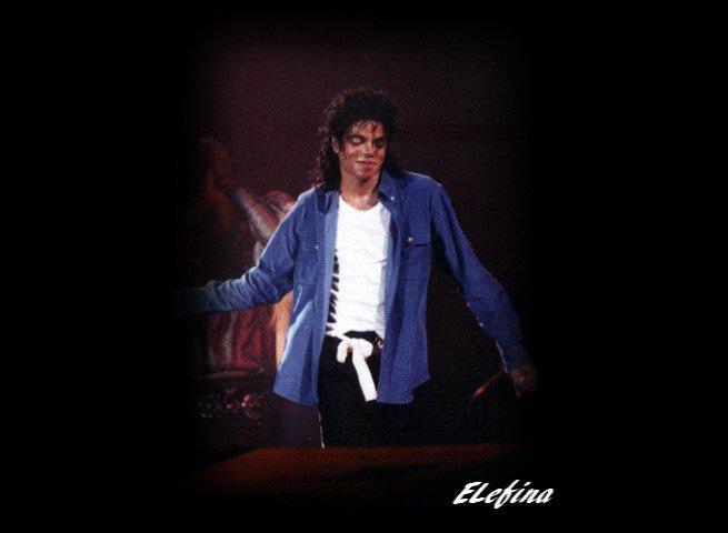 Michael & la scène