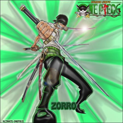 Présentation des membres de l'équipage de Luffy : Zorro