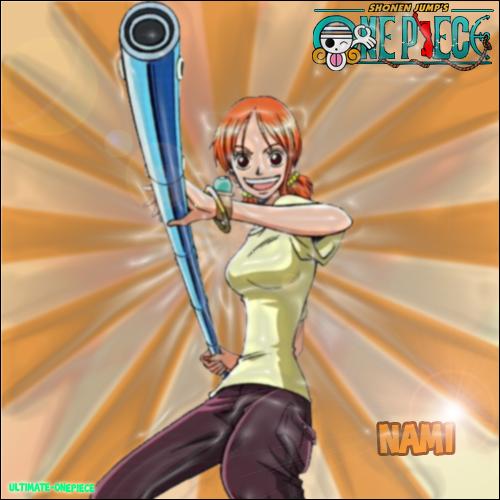 Présentation des membres de l'équipage de Luffy : Nami