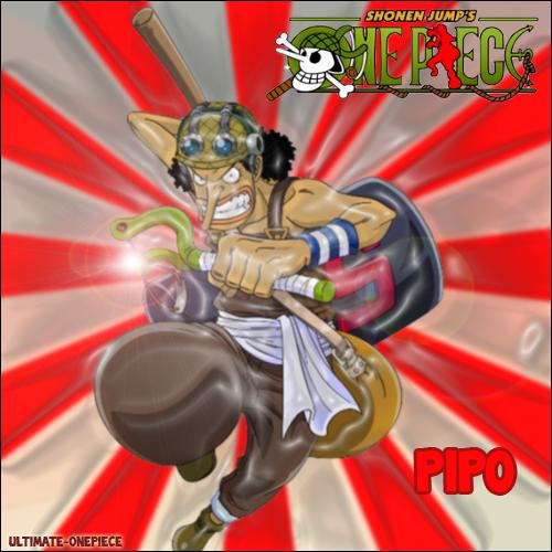Présentation des membres de l'équipage de Luffy : Pipo
