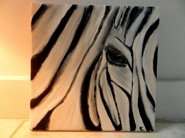 Peinture Zèbre