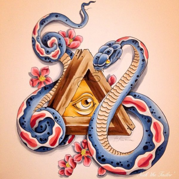 """Dessin Tatouage Serpent articles de tattoodream taggés """"serpent"""" - tattoodream - skyrock"""