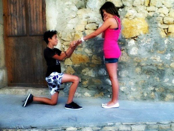 13 ans et fiancée :P ♥