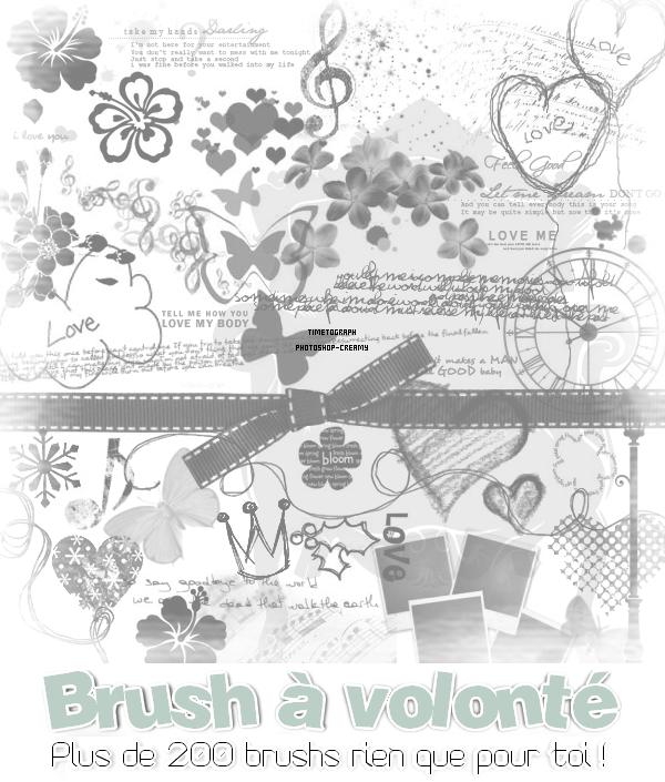 Brush à volonté !