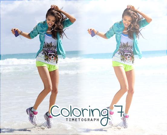 """Coloring """"été"""" 7"""