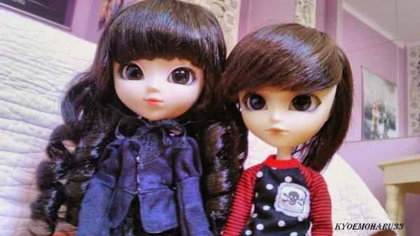 ♥♥♥ Shooting-photo de Kokoro et Haru ♥♥♥