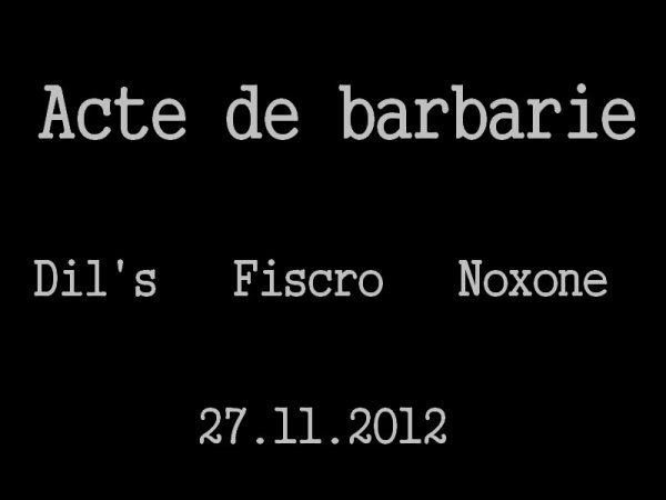Acte de Barbarie (2012)