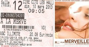 709 –[09-03-2013 : « A la Merveille »]