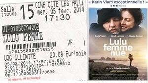 """711 -[05-02-2014 : """"Lulu Femme Nue""""]"""