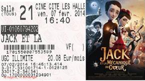 """712 -[07-02-2014 : """"Jack et la Mécanique du Coeur""""]"""