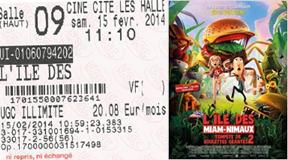 """715 -[15-02-2014 : """"L'ile des Miam-Nimaux""""]"""
