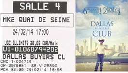 """716 -[24-02-2014 : """"Dallas Buyers Club""""]"""