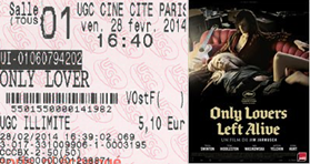 """718 -[28.02.2014 : """"Only Lovers Left Alive""""]"""