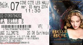 """725 -[05.03.2014 : """"La Belle et la Bête""""]"""